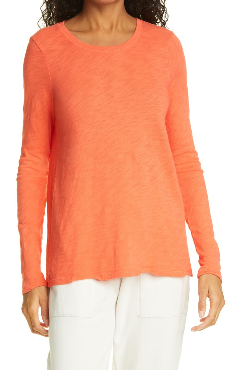 ATM ANTHONY THOMAS MELILLO Destroyed Wash Tee, Main, color, CORAL