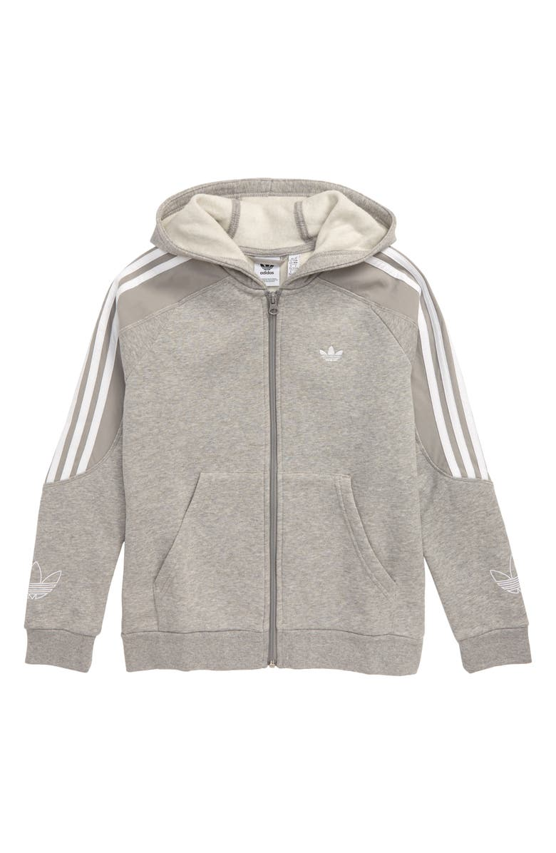ADIDAS ORIGINALS Outline Full Zip Hoodie, Main, color, 035