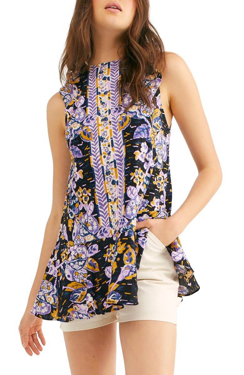 FREE PEOPLE Summer in Tulum Tunic, Main, color, 019