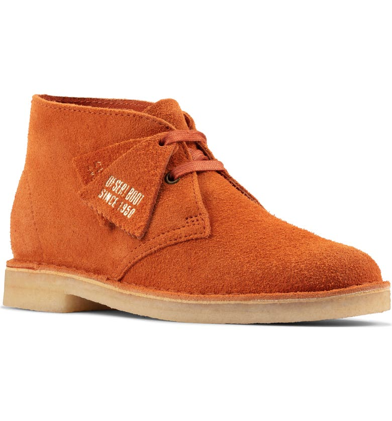 CLARKS<SUP>®</SUP> Desert Chukka Boot, Main, color, GINGER SUEDE