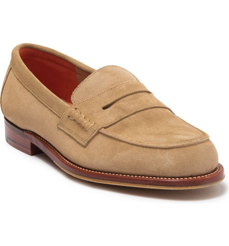 RAG AND BONE Classic Penny Loafer, Main, color, CAMELSDE