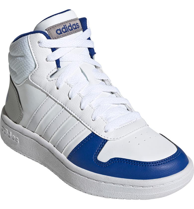 ADIDAS Hoops Mid 2.0 Sneaker, Main, color, FTWWHT/FTW