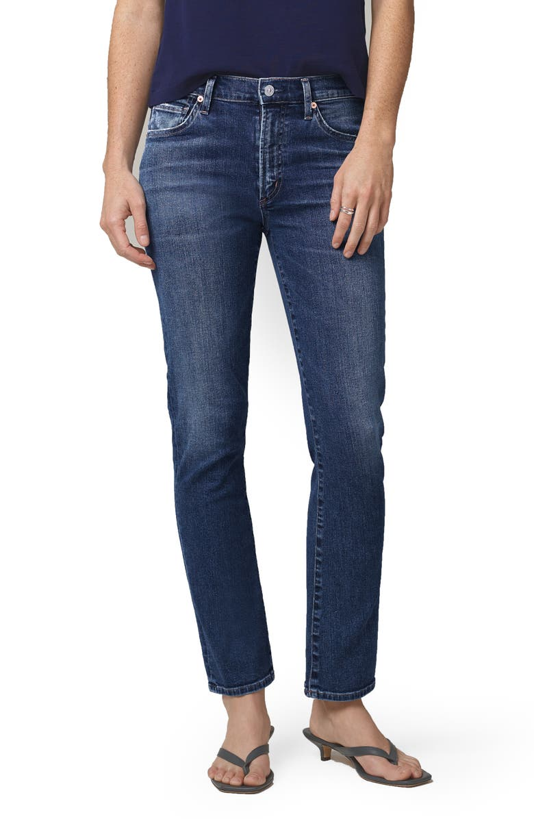 CITIZENS OF HUMANITY Skyla High Waist Ankle Cigarette Jeans, Main, color, CHARISMA