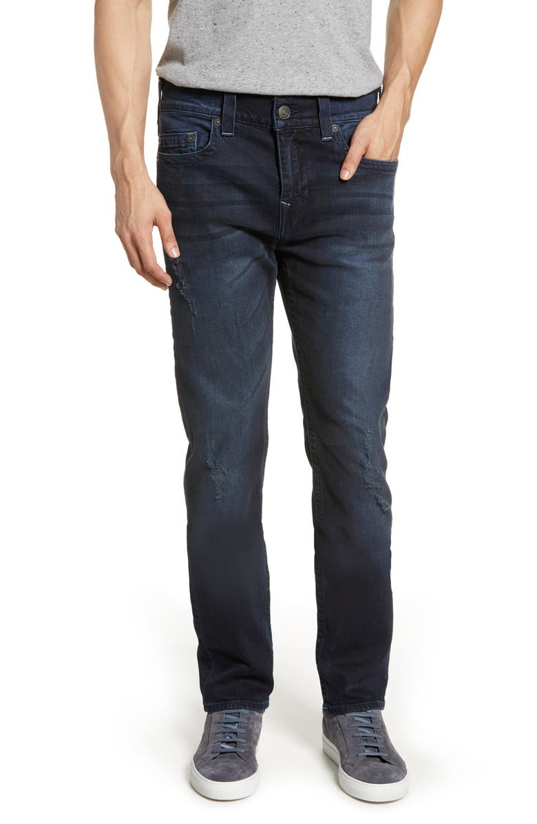 TRUE RELIGION BRAND JEANS Marco Tapered Slim Fit Jeans, Main, color, 401