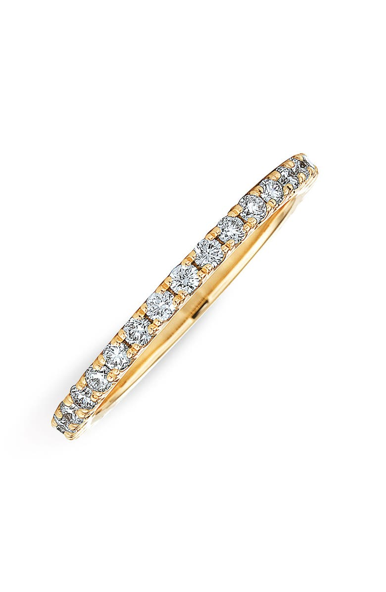 KWIAT Diamond Stackable Ring, Main, color, YELLOW GOLD