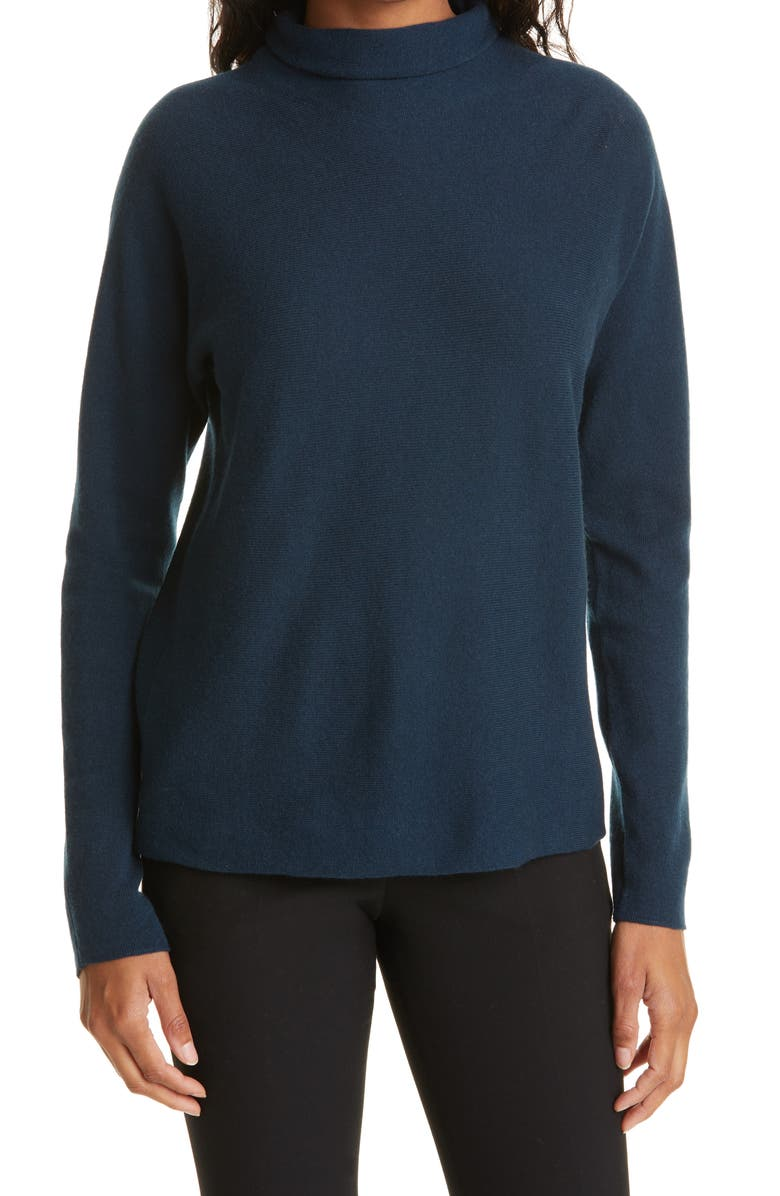 VINCE Trimless Wool & Cashmere Mock Neck Sweater, Main, color, 480