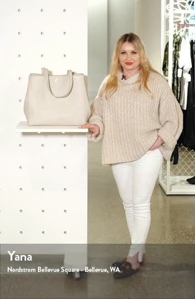 Large Allyn Leather Tote, sales video thumbnail