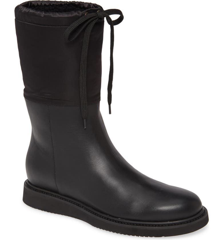 AQUATALIA Camillia Weatherproof Wedge Boot, Main, color, 001