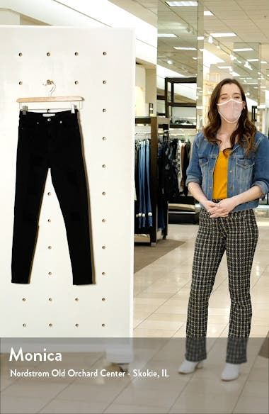 Jamie High Waist Super Ripped Skinny Jeans, sales video thumbnail