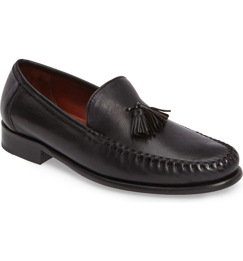 ROBERT ZUR Elon Tassel Loafer, Main, color, 001
