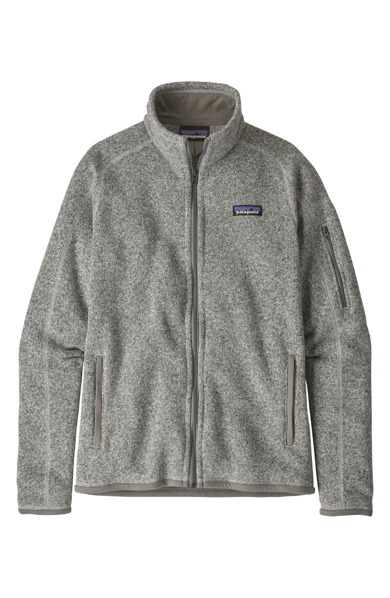 PATAGONIA Better Sweater<sup>®</sup> Jacket, Main, color, BIRCH GREY