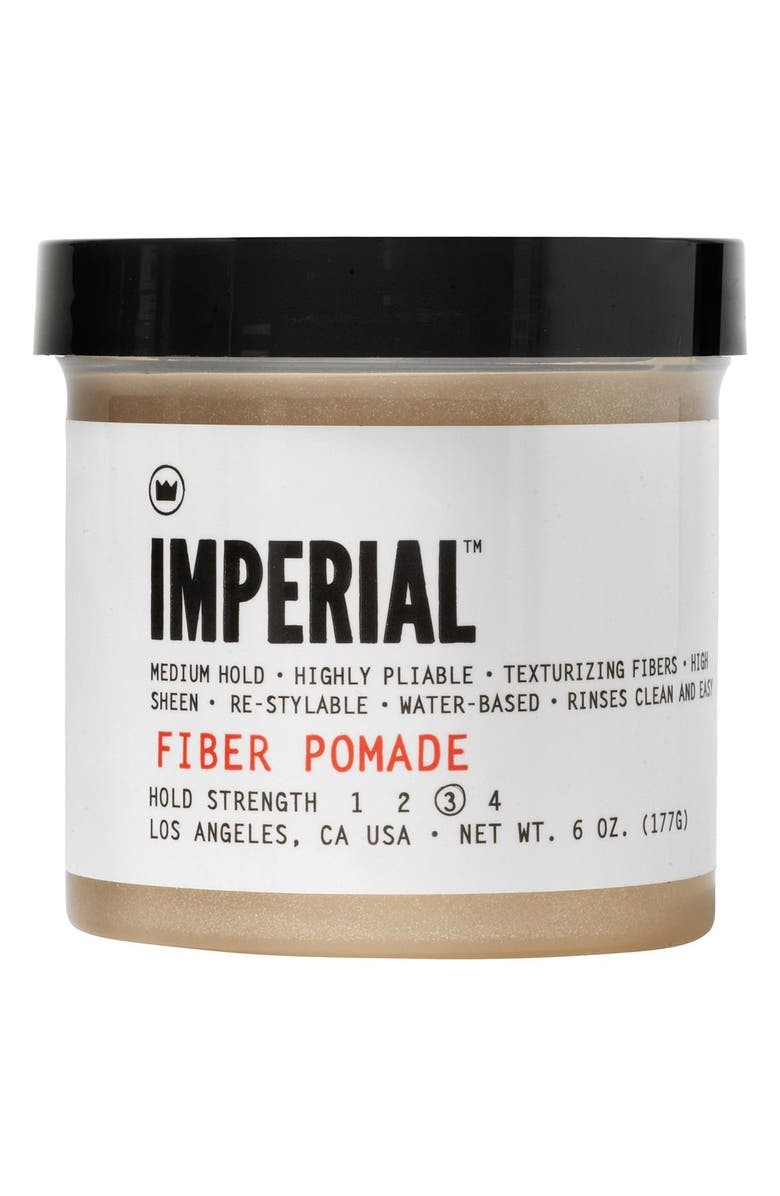 IMPERIAL BARBER GRADE PRODUCTS<SUP>™</SUP> Fiber Pomade, Main, color, No Color