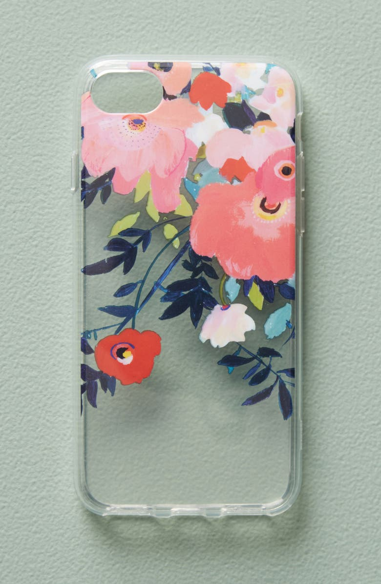 ANTHROPOLOGIE HOME Anthropologie Sweetgale iPhone 6/6s/7 Case, Main, color, 650