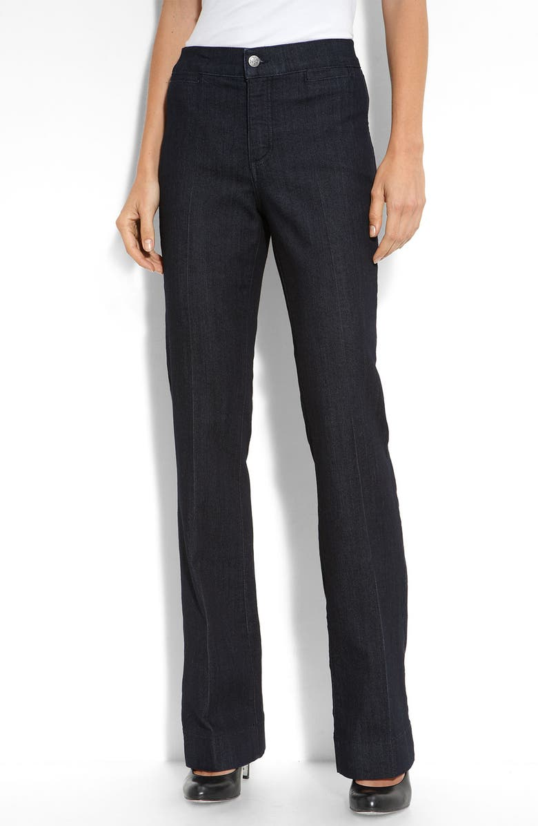 NYDJ 'Michelle' Stretch Trousers, Main, color, RESIN
