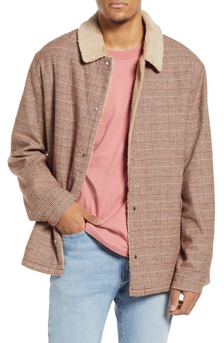 ZANEROBE Faux Shearling Lined Work Jacket, Main, color, 700