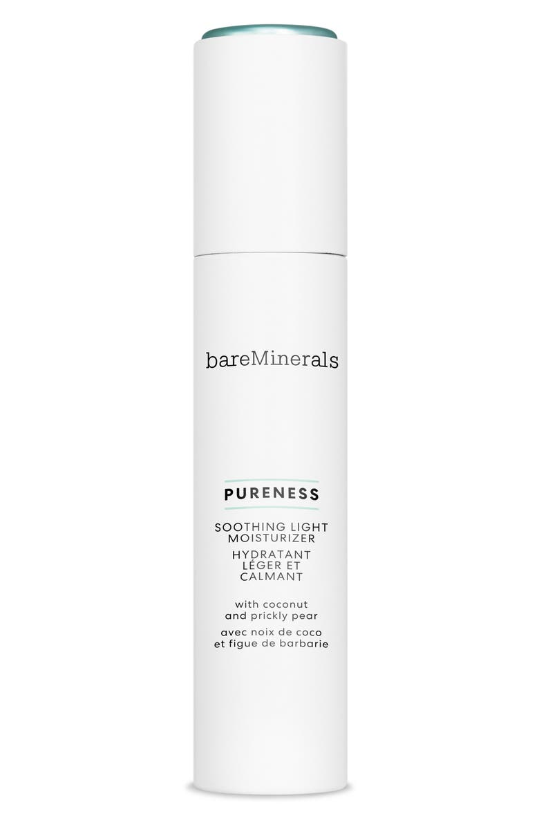 BAREMINERALS<SUP>®</SUP> Pureness Soothing Light Moisturizer, Main, color, NO COLOR