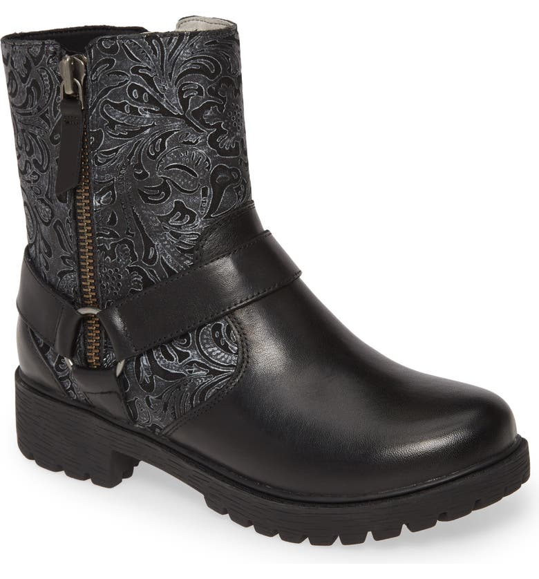 ALEGRIA BY PG LITE Alegria Water Resistant Boot, Main, color, PEWTER SWISH LEATHER
