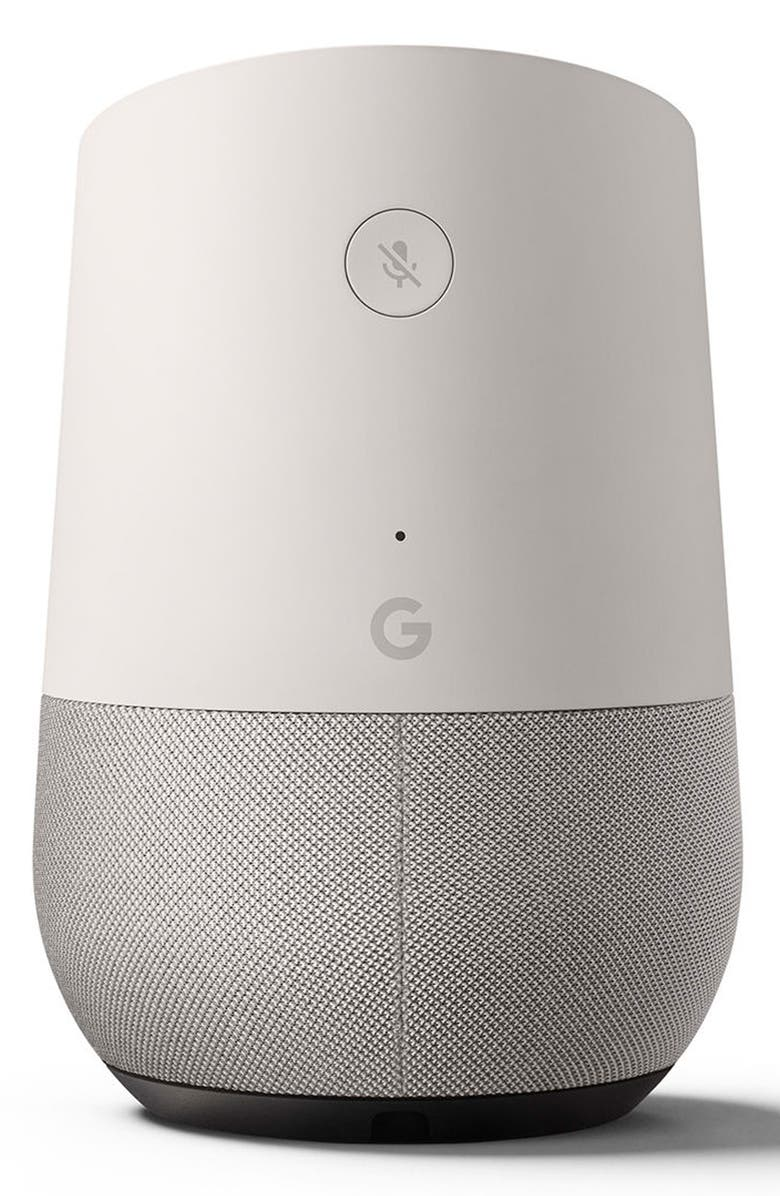 GOOGLE Home Voice Activated Speaker, Main, color, 100