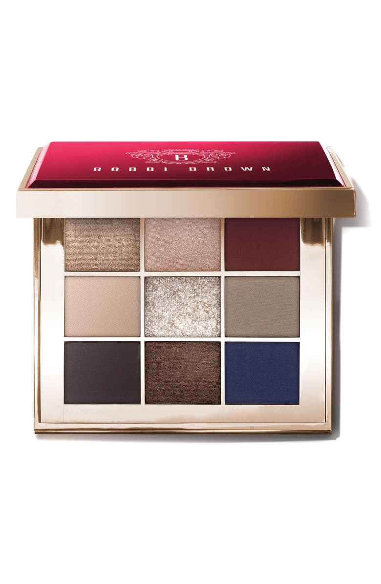 BOBBI BROWN Caviar & Rubies Eyeshadow Palette, Main, color, 000
