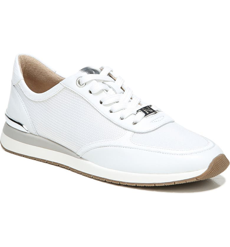 NATURALIZER Lotus Sneaker, Main, color, WHITE LEATHER
