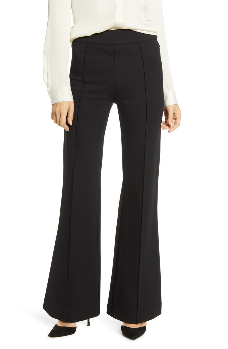 SPANX<SUP>®</SUP> The Perfect Black Pant High Waist Ponte Flare Pants, Main, color, 019