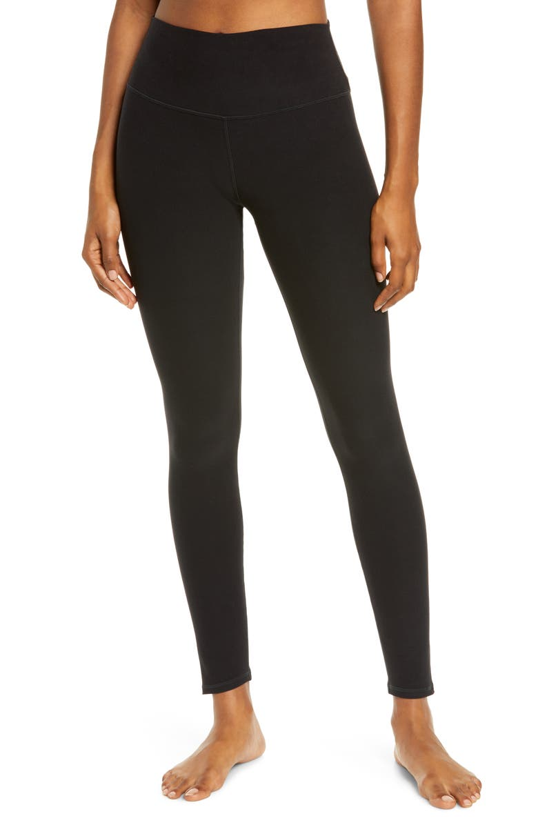 ALO High Waist Highlight Leggings, Main, color, 005