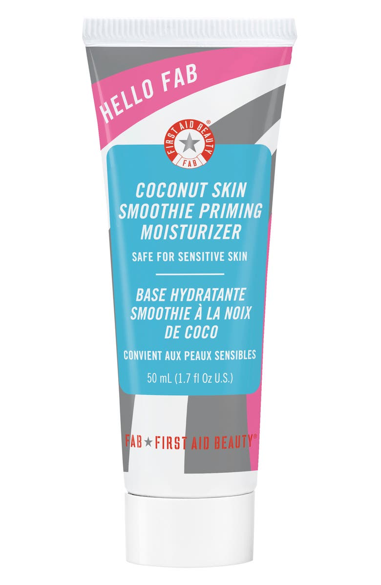 FIRST AID BEAUTY Hello FAB Coconut Skin Smoothie Priming Moisturizer, Main, color, No Color