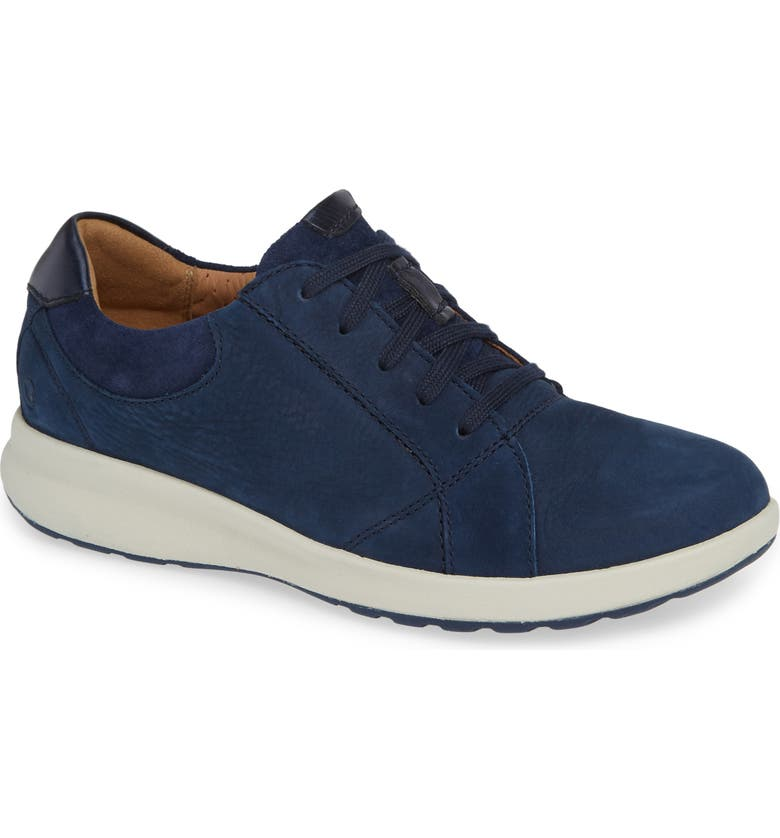 CLARKS<SUP>®</SUP> UnAdorn Lace-Up Sneaker, Main, color, 419