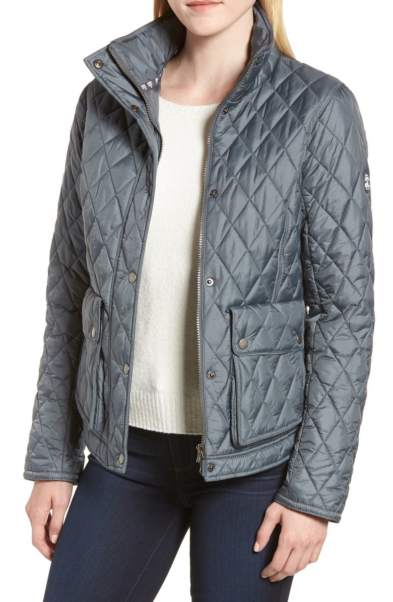 BARBOUR Fairway Quilted Jacket, Main, color, 020