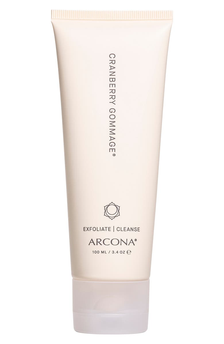 ARCONA Cranberry Gommage Purifying Exfoliator, Main, color, No Color