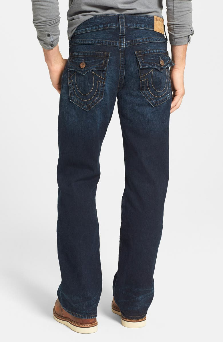 TRUE RELIGION BRAND JEANS 'Billy - Flap Core' Bootcut Jeans, Main, color, 400