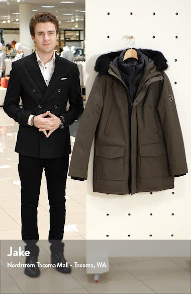 Butte 3-in-1 Down Parka with Genuine Shearling Trim, sales video thumbnail