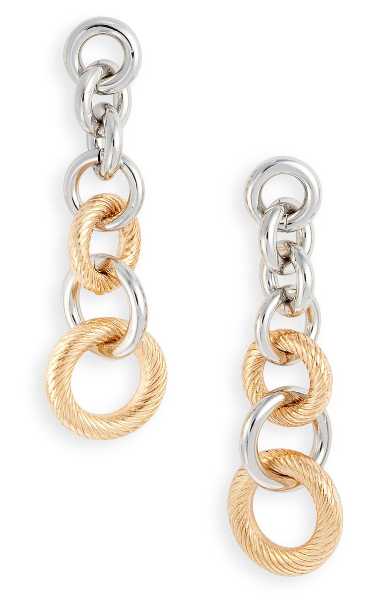 8 OTHER REASONS x Jenn Im Mulholland Earrings, Main, color, GOLD AND SILVER