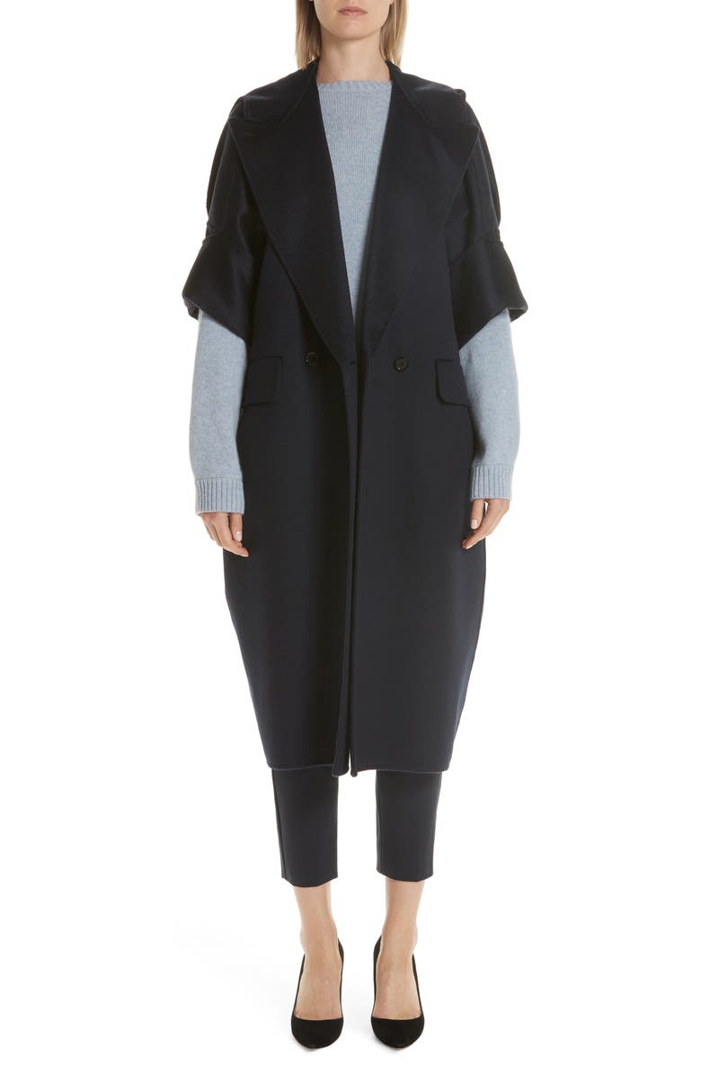 MAX MARA Pelago Double Breasted Cashmere Coat, Main, color, 400