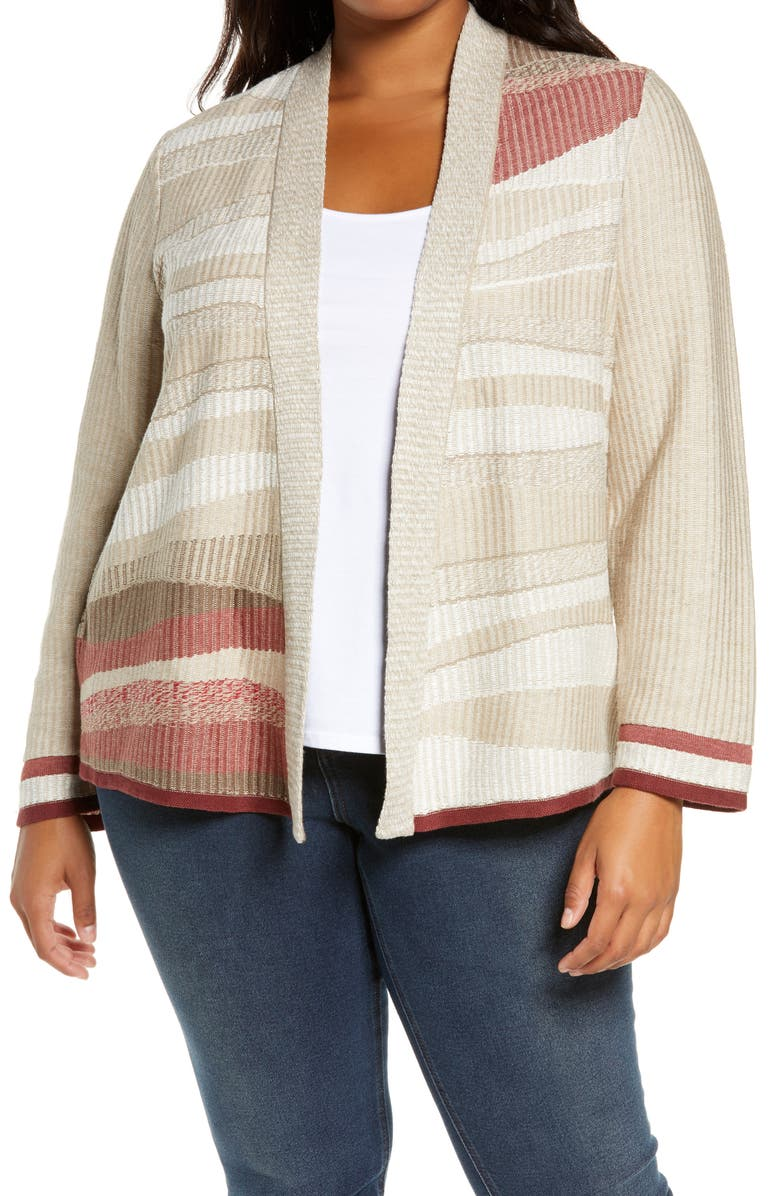 NIC+ZOE Fall Air Open Front Cardigan, Main, color, 250