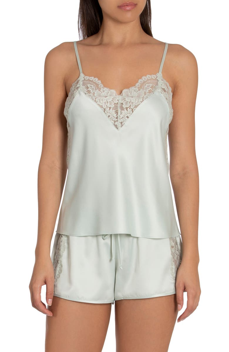 IN BLOOM BY JONQUIL Because Short Pajamas, Main, color, SAGE