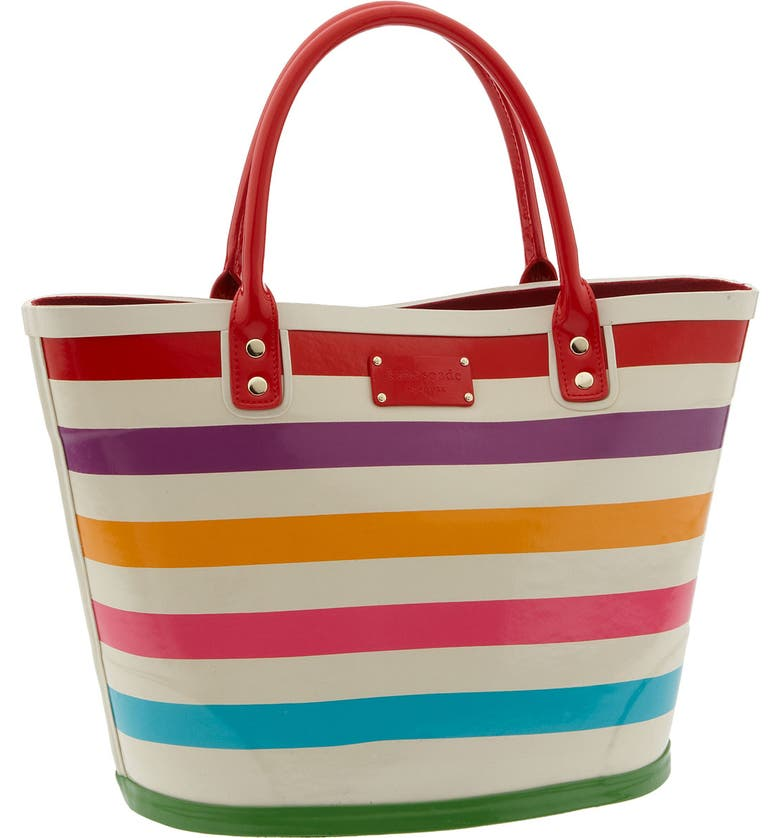 KATE SPADE NEW YORK kate spade 'wellie magee' rubber tote, Main, color, 976