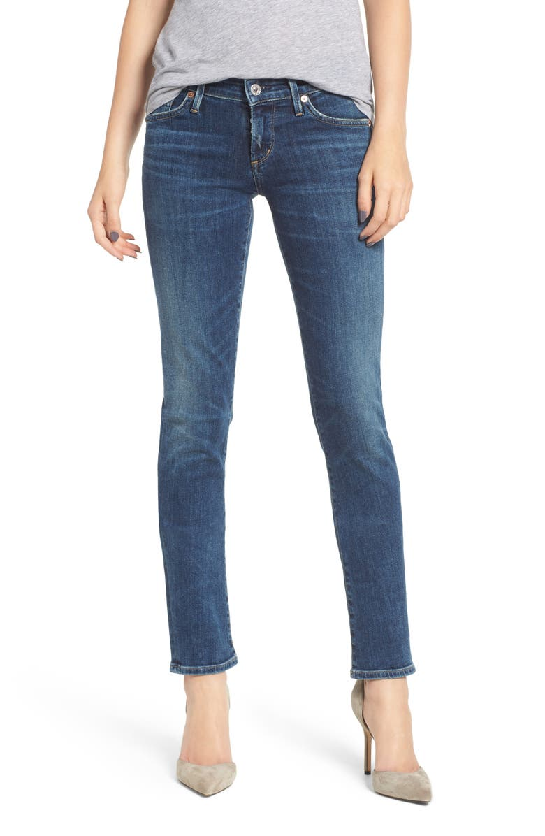 CITIZENS OF HUMANITY Racer Slim Jeans, Main, color, 422