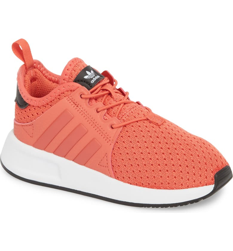 ADIDAS X_PLR Sneaker, Main, color, TRACE SCARLET/ WHITE