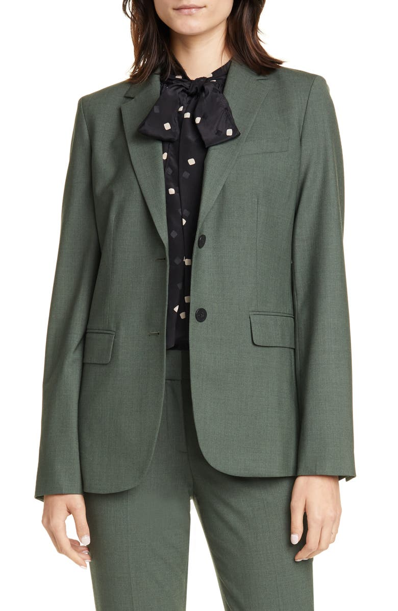 THEORY Classic Stretch Wool Jacket, Main, color, 383