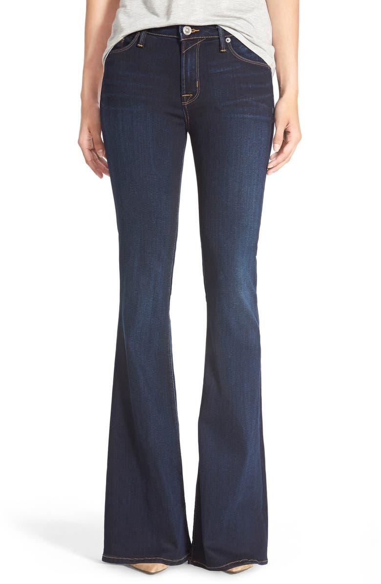 HUDSON JEANS 'Mia' Flare Jeans, Main, color, ORACLE