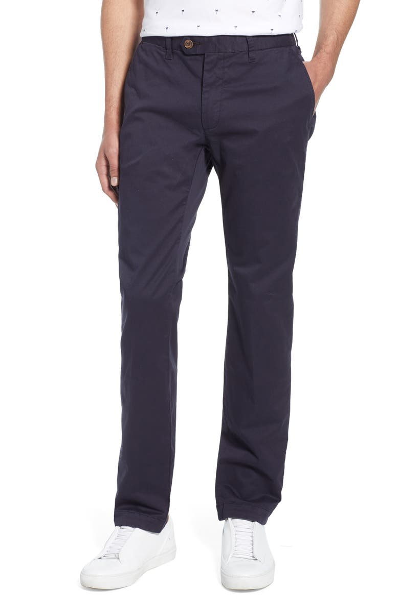 TED BAKER LONDON Seentt Slim Fit Chinos, Main, color, 410