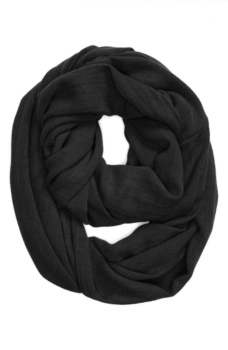 ACCESSORY STREET Infinity Scarf, Main, color, 001