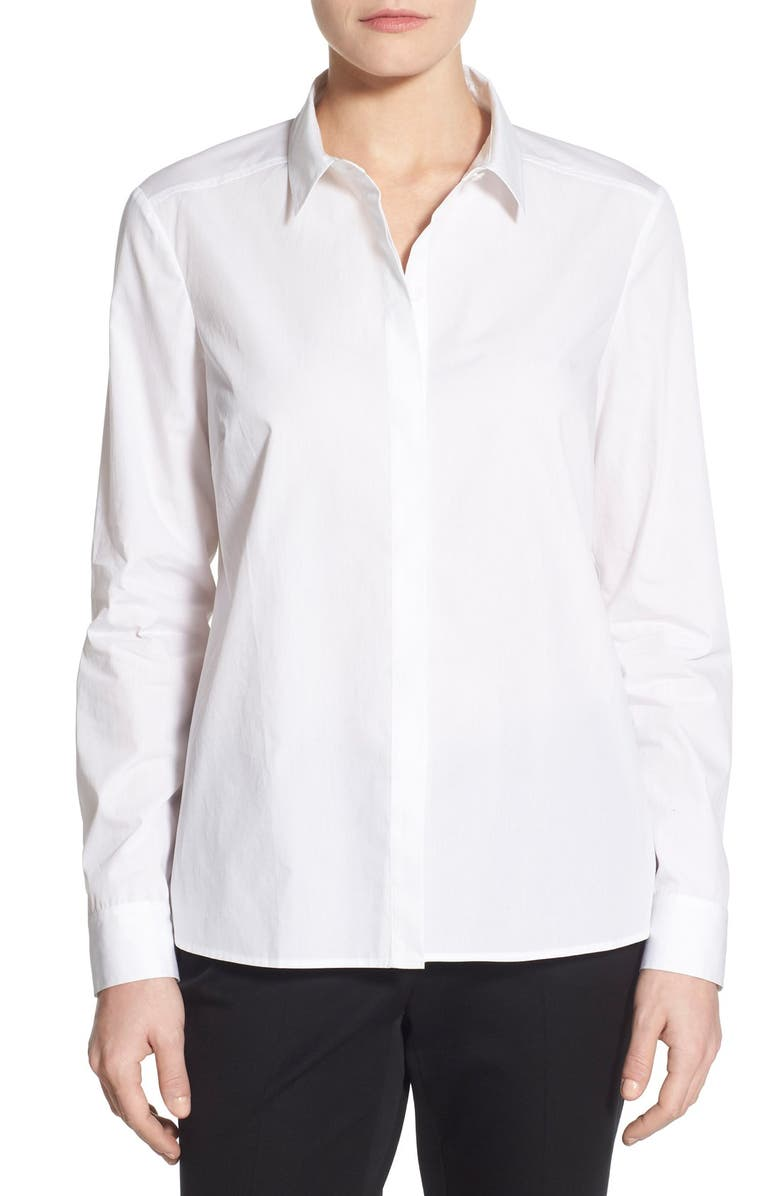 HALOGEN<SUP>®</SUP> Crossover Back Shirt, Main, color, 100