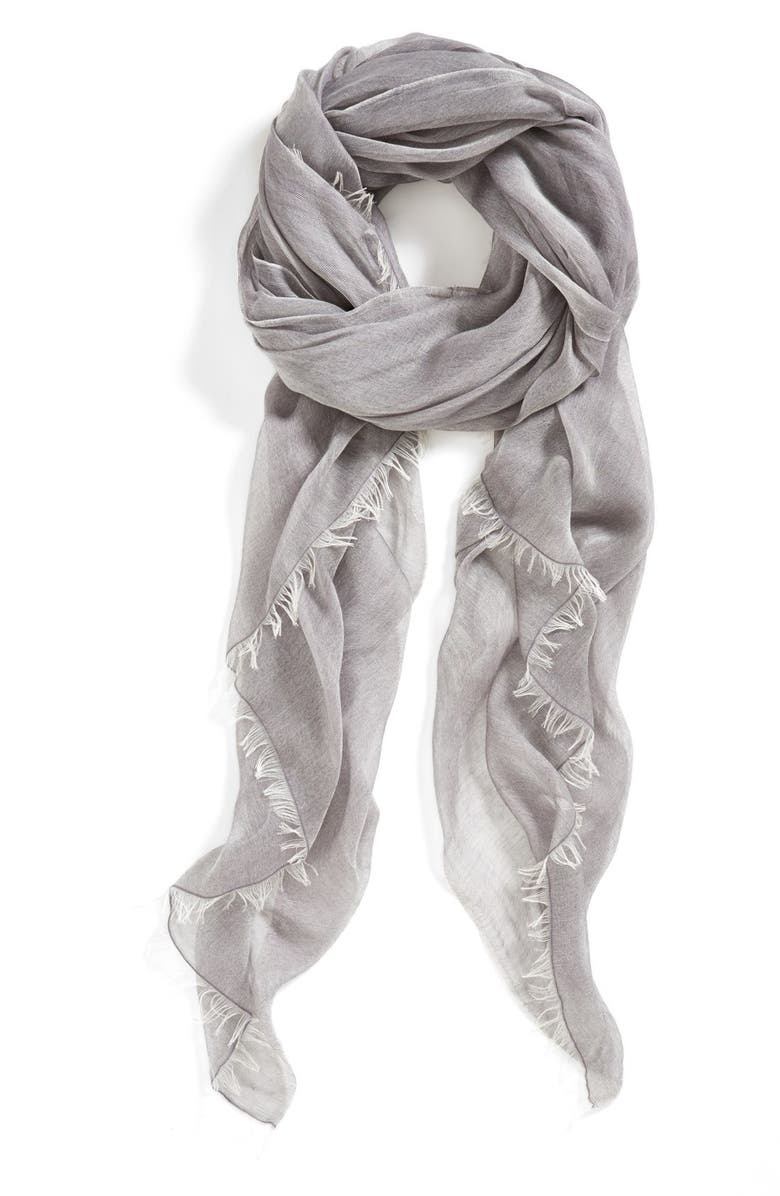 NORDSTROM Woven Scarf, Main, color, 021