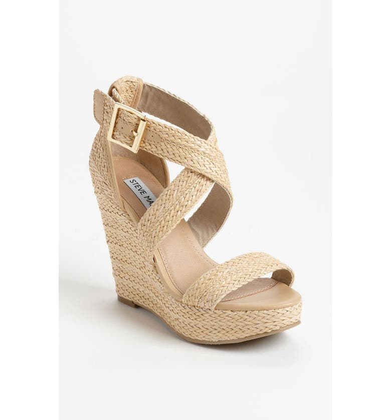 STEVE MADDEN 'Haywire' Wedge Sandal, Main, color, 250
