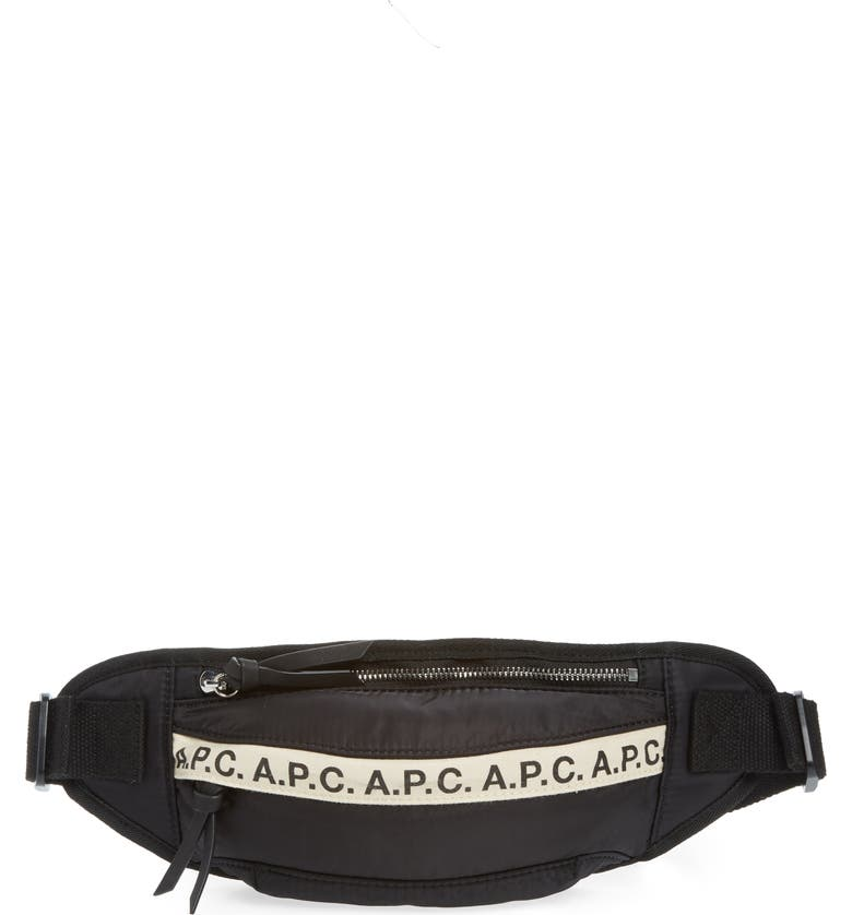 A.P.C. Banane Lucille Fanny Pack, Main, color, 001