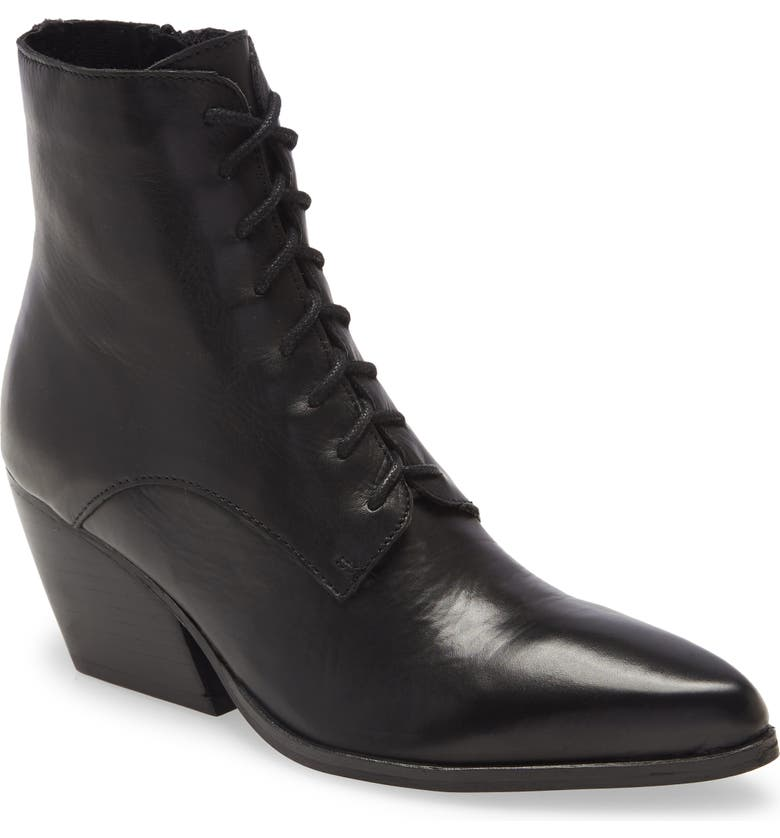 JEFFREY CAMPBELL Kela-Lu Bootie, Main, color, BLACK LEATHER