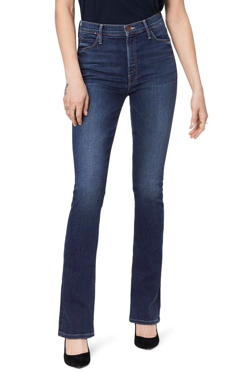 MOTHER The High Waist Runaway Jeans, Main, color, 430