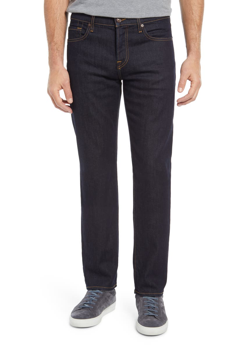 7 FOR ALL MANKIND Men's Slimmy Slim Fit Jeans, Main, color, DARK RINSE